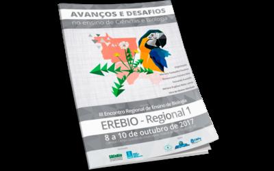 Anais do III Encontro Regional de Ensino de Biologia da Regional 1 – 2017